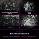 HELPMANNS 2018 BEST SCENIC DESIGN NOMINATION
