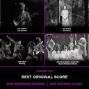 HELPMANNS 2018 BEST ORIGINAL SCORE  NOMINATION